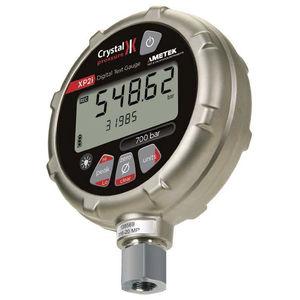 manómetro con pantalla LCD / electrónico / para carburante / para gas
