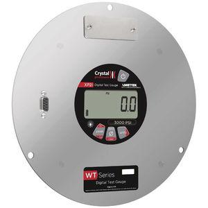 manómetro digital / electrónico / para gas / para vacío