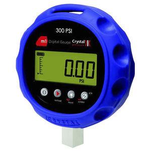 manómetro con pantalla LCD / electrónico / para HVAC / para gas