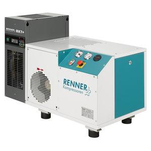 compresor con secador por refrigeración