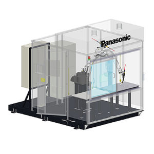 célula robotizada de soldadura al arco