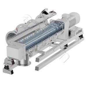 mezcladora granuladora / de palas / continua / de polvo