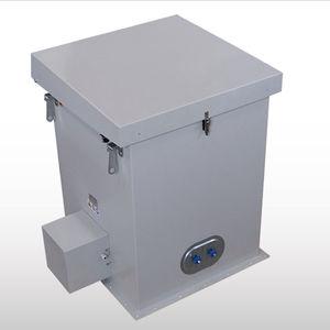 filtro para aire comprimido / multibolsas / autolimpiante / para silo