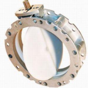 válvula de mariposa / eléctrica / de cierre / de aluminio