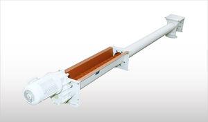 alimentador monotornillo / motorizado / para productos a granel / para granulados