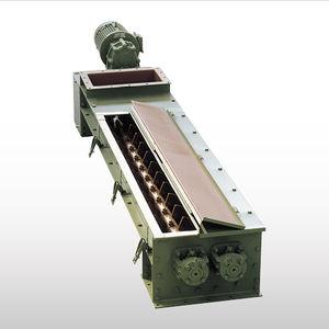 mezcladora de palas / continua / para líquidos / de 2 ejes