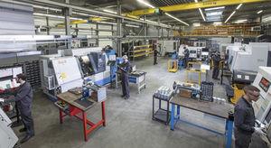 mecanizado torneado de metal / para la aeronáutica / series medianas / series pequeñas
