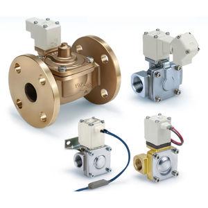 electroválvula de control asistido / de 2 vías / NC / NA