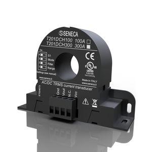 sensor de corriente de efecto Hall en lazo cerrado / magneto-resistivo / en riel DIN / fijo