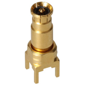 conector radiofrecuencia / coaxial / DIN / recto