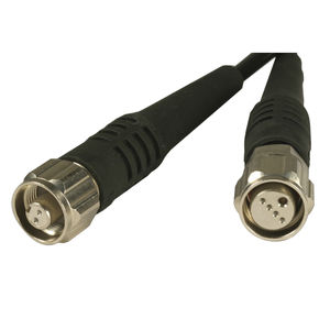 conector RF / de fibras ópticas / USB / circular