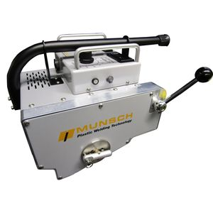 máquina de soldar con calces calefactores