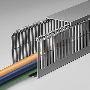 canaleta de cableado / de PVC / modular / rígida