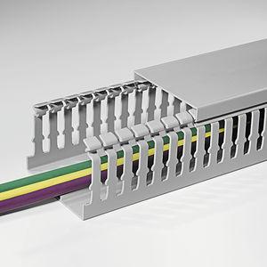 canaleta de cableado / de ABS / de PC / rígida
