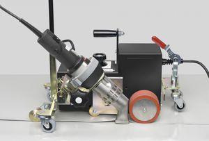 máquina de soldar de aire caliente / AC / automática / para PVC