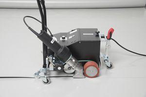 máquina de soldar de aire caliente / AC / automática / para techado