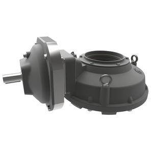 reductor de vueltas múltiples / de engranajes cónicos / de ejes ortogonales / 2 - 5 kNm