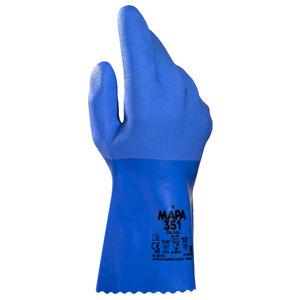 guantes de trabajo / de protección química / resistentes al aceite / de protección mecánica