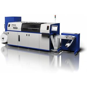 prensa flexográfica en línea / de 6 colores / de etiquetas / de inyección de tinta