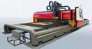 máquina de corte por plasma / oxicombustible / de chapa / CNC