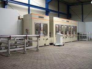 máquina de superacabado rectificadora / máquinas y pulidoras sin centros / lineal / para barras de cilindros