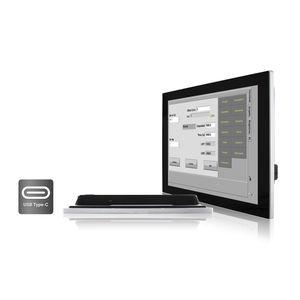 monitor LCD / con tecnología capacitiva proyectada / 15