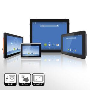 terminal HMI compacto / con pantalla multitáctil / empotrable / embarcado