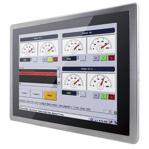 monitor antideflagrante / LCD / con tecnología capacitiva proyectada / 15