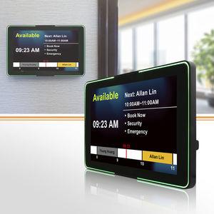 terminal HMI de control de acceso / con pantalla multitáctil / empotrable / de pared