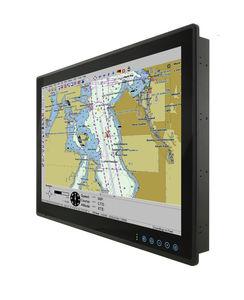 panel PC TFT LCD / con pantalla táctil multipuntos / con pantalla táctil capacitiva / 12