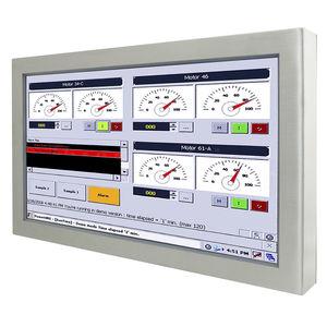 panel PC con pantalla táctil resistiva de 5 hilos