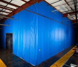 cortina de separación / acústica