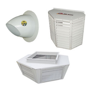 difusor de aire de sección rectangular / de techo / de alta inducción