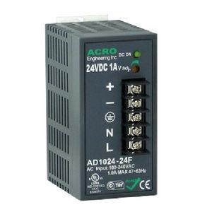 alimentación eléctrica en riel DIN / AC/DC / de múltiples salidas / compacta