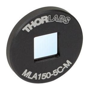 matriz de lentes de vidrio BK7