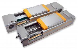 actuador lineal / eléctrico / de correa dentada / con servomotor