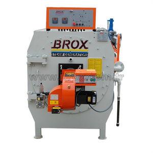 generador de vapor de gas natural / de fuel / de tubos de humo / vertical