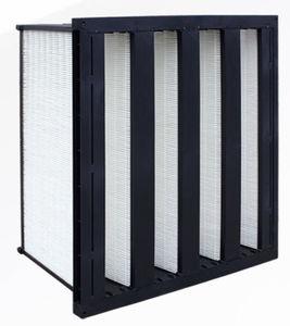 filtro de aire / de paneles / en V / de alta temperatura