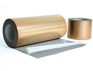 cinta adhesiva de caucho / de caucho butilo / para la construcción / de película
