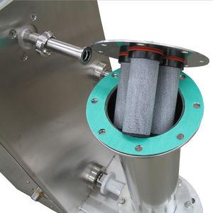 tubería rígida para aire comprimido / de transporte / de acero inoxidable / flexible