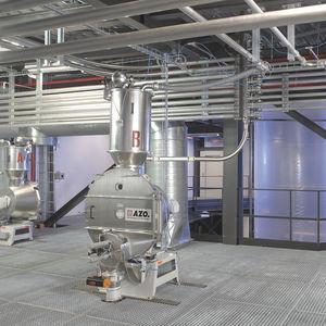 mezclador-dosificador gravimétrico / de alta precisión / continuo