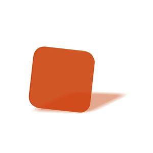 filtro óptico naranja