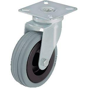 ruedecilla giratoria / con platino giratorio / con neumático / con guarda-hilos