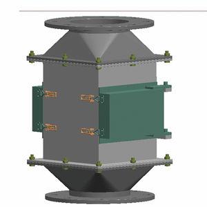 separador magnético de placa