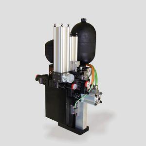 sistema hidráulico de accionamiento para punzonado