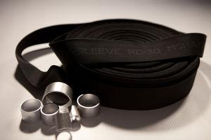 funda de protección / plana / para tubos flexibles / para tubos hidráulicos