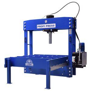prensa hidráulica / motorizada / de enderezar / ancha