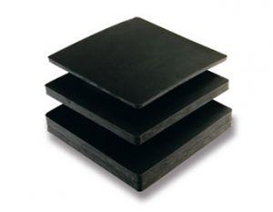 alfombra antivibración / acústica / de estabilización / de neopreno