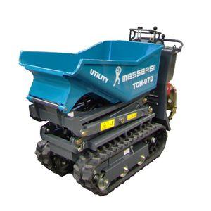 mini-dúmper con orugas / eléctrico / gasolina / con volquete de elevación