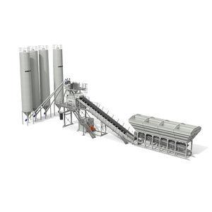 planta de hormigón estacionaria